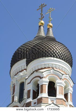 Alexander Nevsky Church In Tallinn Estonia