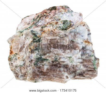 Specimen Of Delhayelite Stone Isolated