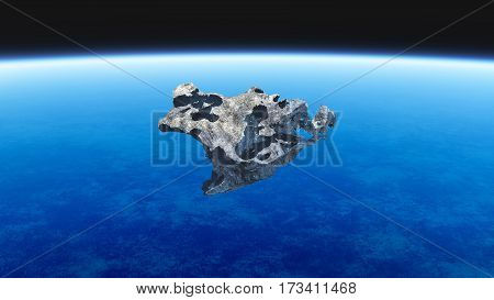 Meteorite Outerspace