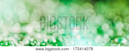 festive colorful background blur with round spots