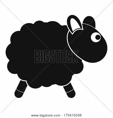 Sheep icon. Simple illustration of sheep vector icon for web