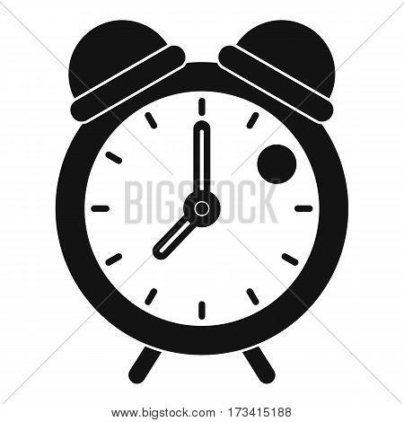 Alarm clock retro classic design icon. Simple illustration of alarm clock retro classic design vector icon for web