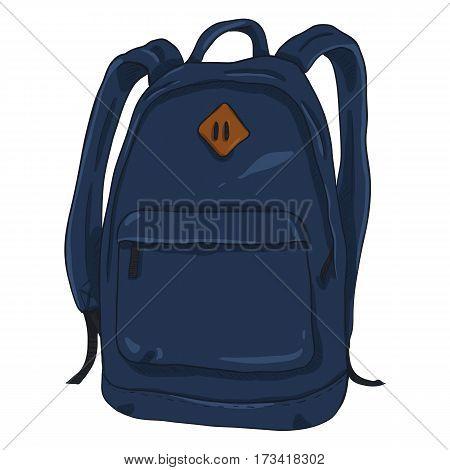 Vector Single Cartoon Casual Backpack