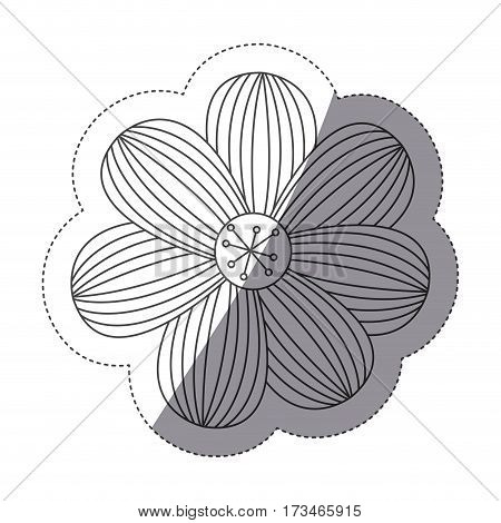 figure flower icon image, vector illustraction design stock