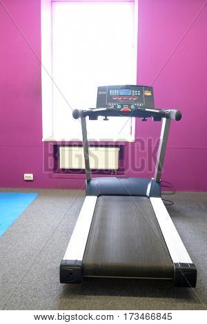 The image of treadmill