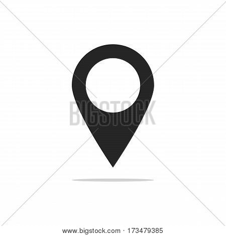 Gps Icon. Gps Vector Isolated On White Background.