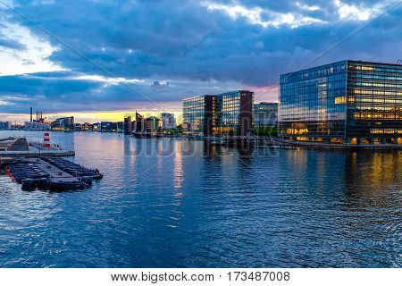 Copenhagen is the capital and most populous city of Denmark. It is one of the most bicycle-friendly cities in the world.