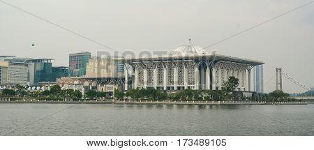 Cityscape Of Putrajaya, Malaysia