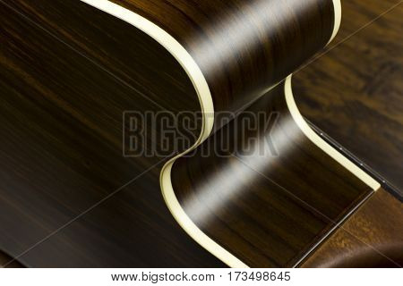 acoustic guitar music case close inlay creativity art sound vibration play music guitarist musician