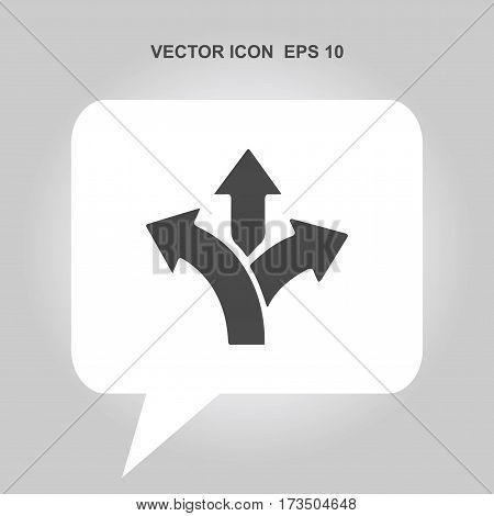 three-way direction arrow Icon, three-way direction arrow Icon Eps10, three-way direction arrow Icon Vector, three-way direction arrow Icon Eps, three-way direction arrow Icon Jpg, three-way direction arrow Icon Picture
