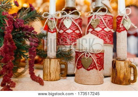 Wooden Wedding Style