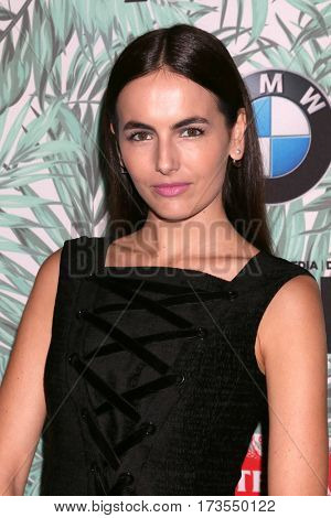LOS ANGELES - FEB 24:  Camilla Belle at the 10th Annual Women in Film Pre-Oscar Cocktail Party at Nightingale Plaza on February 24, 2017 in Los Angeles, CA