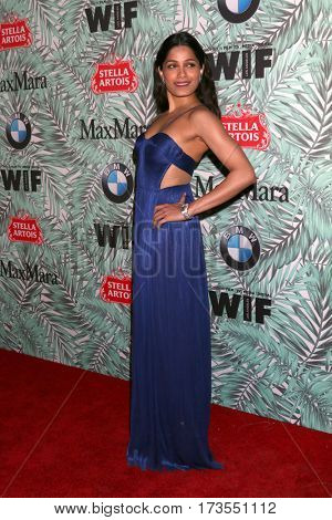 LOS ANGELES - FEB 24:  Freida Pinto at the 10th Annual Women in Film Pre-Oscar Cocktail Party at Nightingale Plaza on February 24, 2017 in Los Angeles, CA