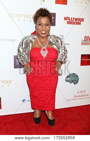 LOS ANGELES - FEB 26:  Tonya Renee Banks at the Style Hollywood Oscar Viewing Dinner at Hollywood Museum on February 26, 2017 in Los Angeles, CA