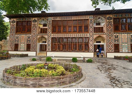 Palace Of Sheki Khans