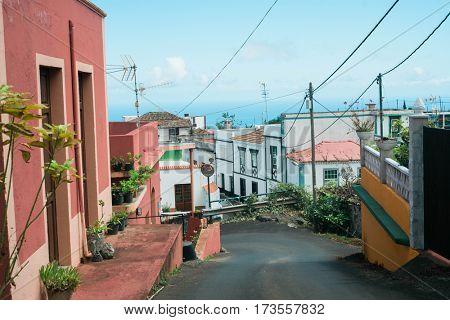 Small village in La Palma, Canary Islands