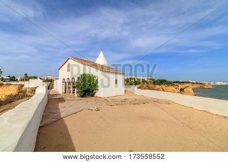 Chapel of Nossa Senhora da Rocha. Algarve. Portugal