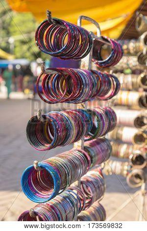 Color Bangles Display