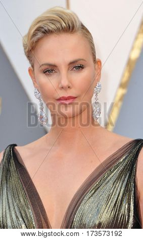 Charlize Theron at the 89th Annual Academy Awards held at the Hollywood and Highland Center in Hollywood, USA on February 26, 2017.