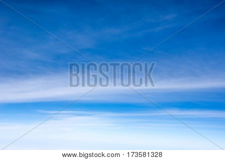 Abstract background of beautiful blue sky with clouds