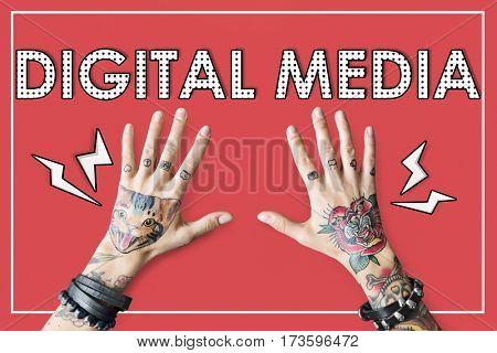 Digital Media Connection Information Technology