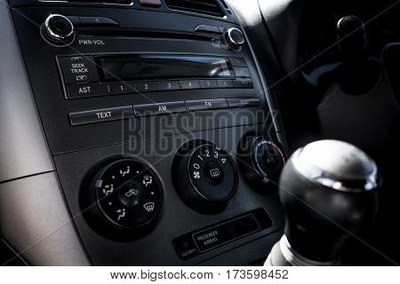 Car Interior And Dashboard