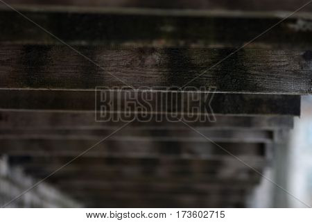 Wooden building background close up, textured vintage style
