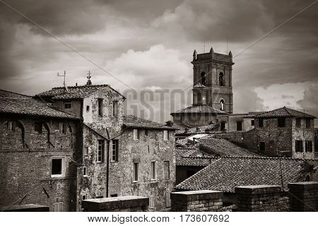 Old medieval town Siena in Italy