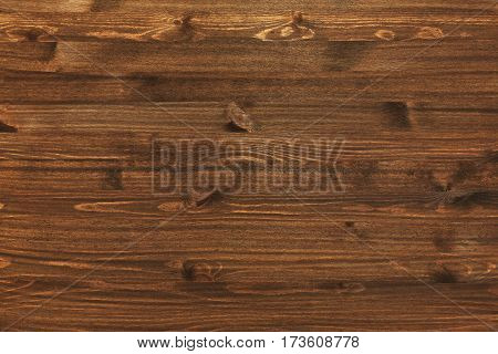 Simple wooden background or surface made of dark old boards