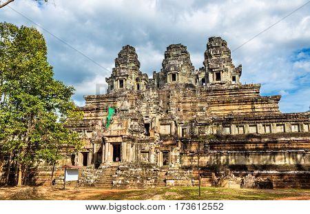 Ta Keo temple at the Angkor complex - Cambodia