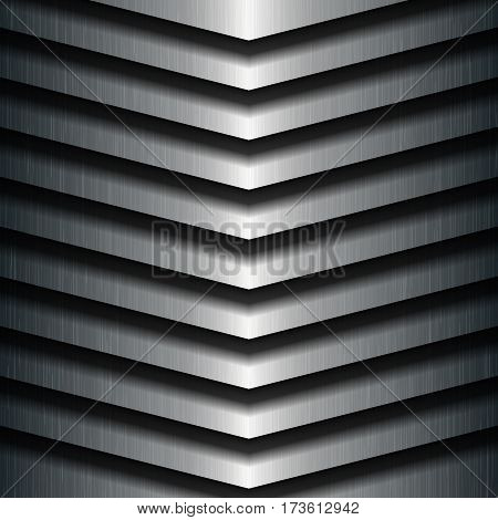 Metal texture background, Stainless steel, Vector illustration