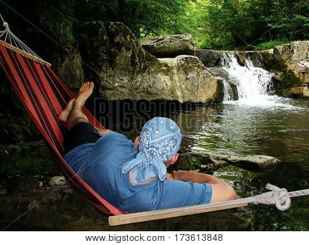 Enjoying the outdoors, summer vacation, summertime, relaxation