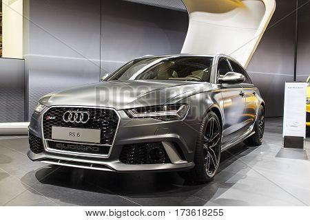 BARCELONA, SPAIN - MAY 2015: Audi RS6