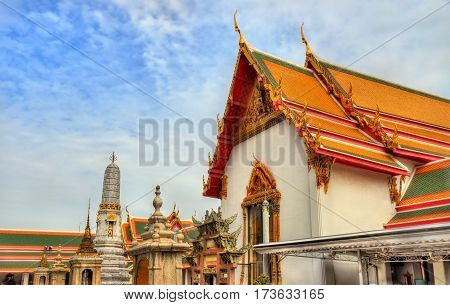 Wat Pho, a Buddhist temple complex in Bangkok - Thailand
