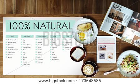 Natural Food Concept