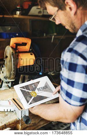 Maintenance Repair Remedy Service Restoration Concept