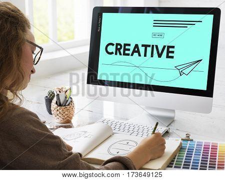 Creative Design Paper Plane Icon