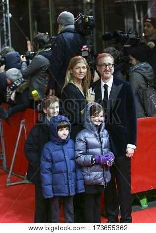 James Gray and his family attends the 'The Lost City of Z' premiere during the 67th Berlinale International Film Festival Berlin at Zoo Palast on February 14, 2017 in Berlin, Germany.