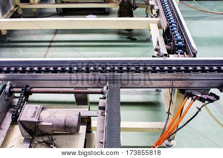 Conveyor belt, production line of the factory
