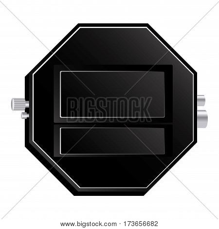 router emblem measuring icon, vector illustraction design image