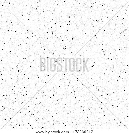 Scratch grunge background. Dirty urban texture. Distress grain pattern. Abstract grungy effect. Splattered aged pattern. Vector