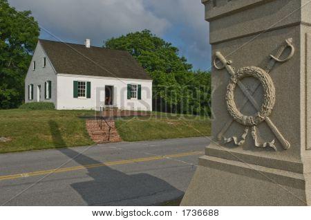 Civil War Church And Monument