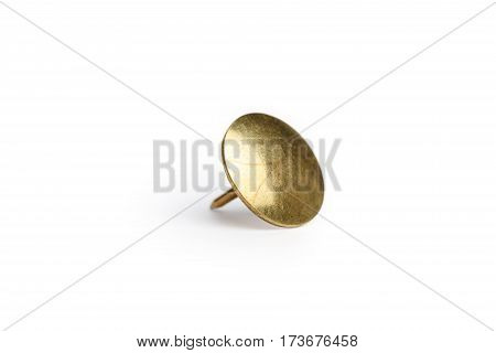 Thumb Tack / Push Pin with a white background