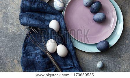 Preparation of Easter eggs