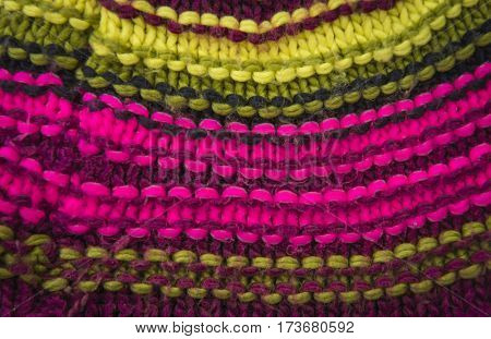 Abstract knitted wool background