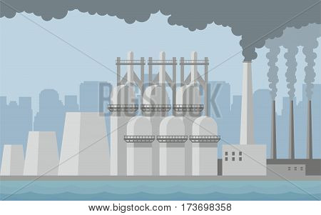 Industrial City Background.eps