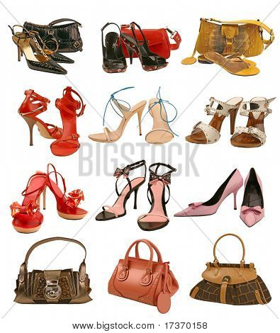 shoes and bag collection