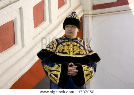 The Man In Imperial Clothes