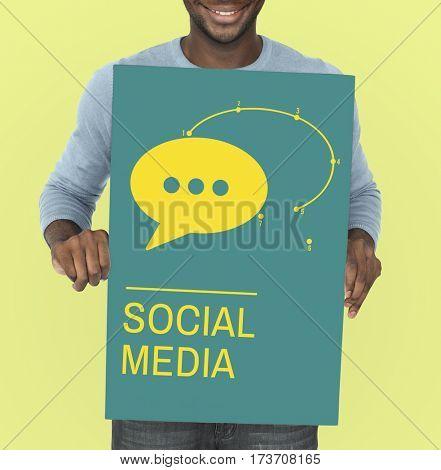 Social Media Global Communications Networking Speech Bubble