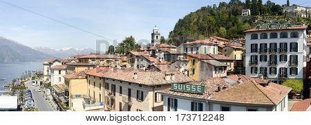The Village Of Bellagio On Lake Como